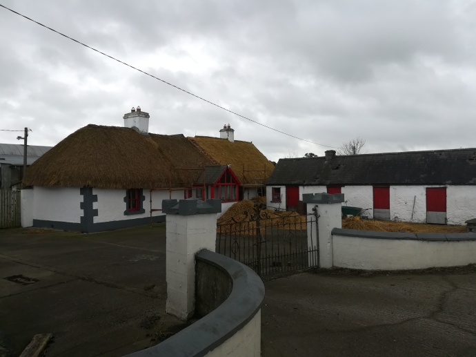 Thatched Rooves in Laois